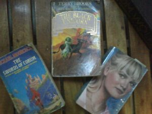 These are some of the novels I read during high school. I had a several collection of the Sweet Valley High Series but I only got one left after being borrowed by classmates. The Chronicles of Corum and The Black Unicorn are some of the novels given by tourists to my father who was then working in a famous beach resort.