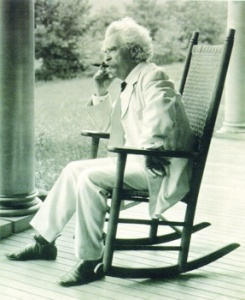 This is a photo of Mark Twain courtesy of www.listverse.com.