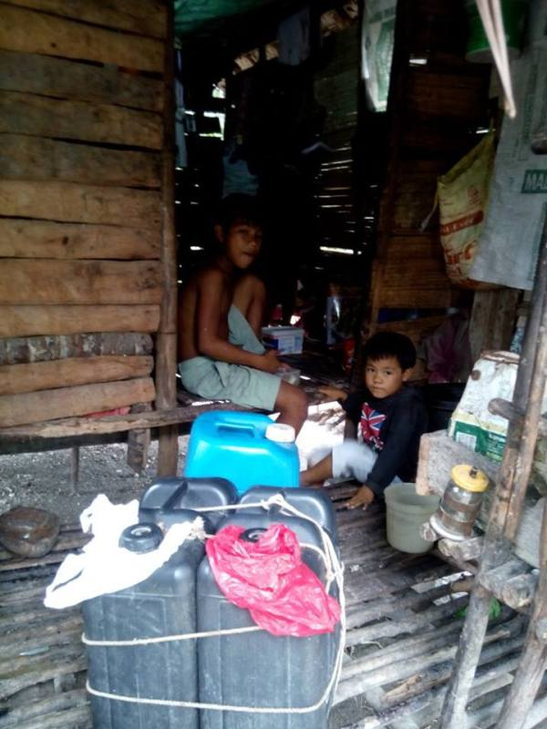 This is one of the households in the indigent community where we conducted outreach program. Thanks Ronald Marzon for the photo.